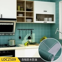 self adhesive wallpaper kitchen bathroom waterproof and oil proof vinyl wallpaper thickened pvc wall papers home decor