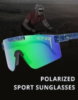 pit viper cool mirror polarized sunglasses men tr90 anti resistance safety goggle women overized shades with free box