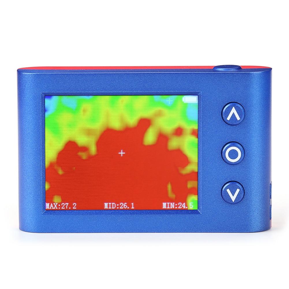 كاميرا تعمل بالأشعة الحرارية تحت الحمراء الرقمية التصوير قابل للتعديل MLX90640 يده USB جهاز استشعار درجة الحرارة اختبار الحرارة