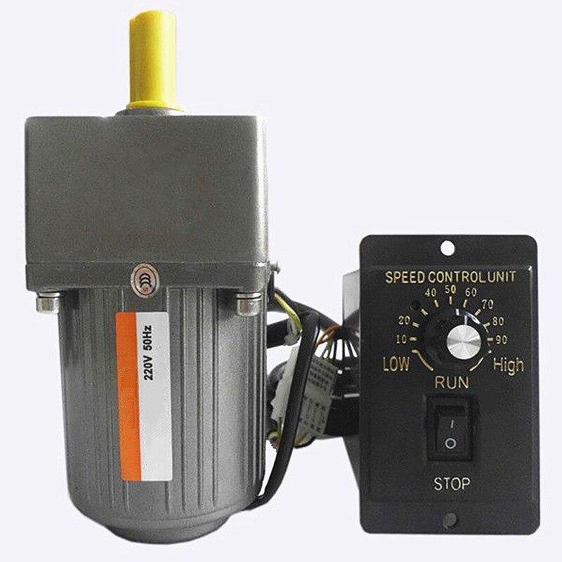 Однофазный 220 в переменный/двигатель с постоянной частотой вращения, 6 Вт переменный ток редукция двигателя 1:10 140 об/мин, регулятор двигателя, J17194