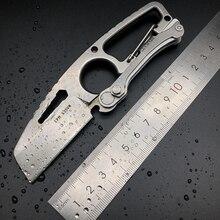 Tactique survie camping portable extérieur fixe couteaux pratique portable pêche couteau pliant chasse bataille EDC sauvetage outils