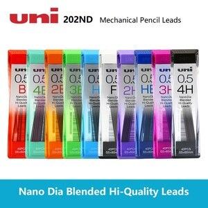 UNI 0.3/0.5/0.7/0.9mm Nano Dia Hi-quality Mechanical pencil leads 4pcs/lot