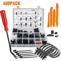 460pcs hand held disassembly tools set boxed buckle screwdriver crowbar cable tie door panel special disassembly car repair tool