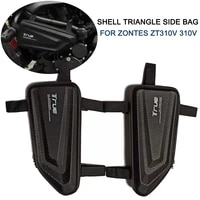tool box for zontes zt310v 310v motorcycle modified hard shell triangle side bag