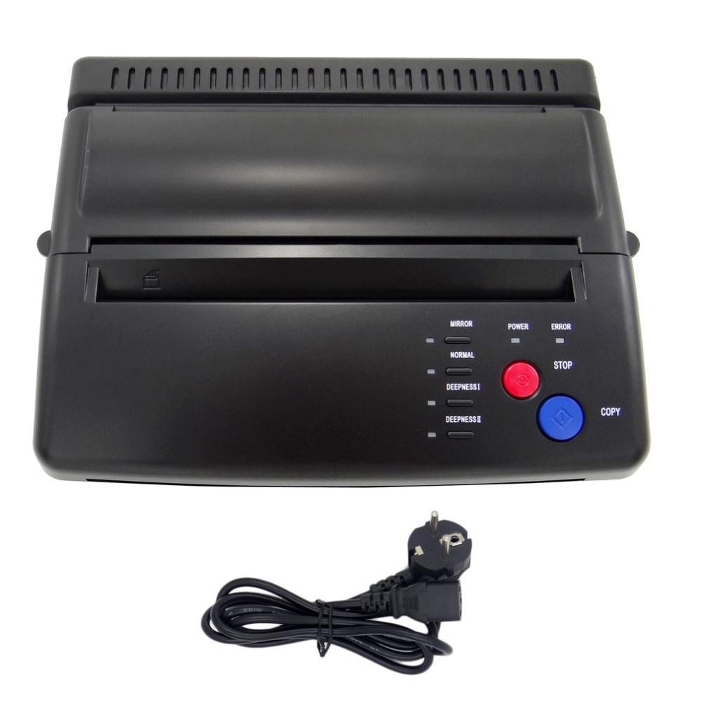 Complete Tattoo Kits Styling Professional USB Tattoo Stencil Maker Transfer Machine Flash Thermal Copier Printer Supplies EUPlug
