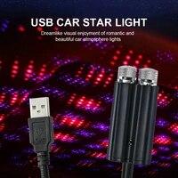 car usb car starlight roof star light car interior led starry lights usb atmosphere projector lights adjustable auto interior