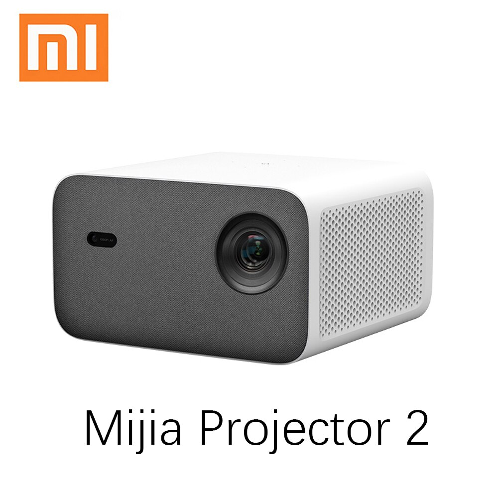 Xiaomi mijia Projektor 2 Volle HD 1080P Projektor 800 ANSI Auto Keystone Korrektur Home Theater Unterstützung 4K Video android Beamer