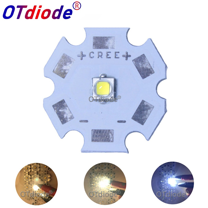 1 Uds. Cree XPG2 led XP-G2 1-5W LED emisor blanco frío 6500K blanco neutro 4500k para linterna/foco/bombilla
