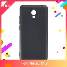 M6 Case Matte Soft Silicone TPU Back Cover For Meizu M6 Phone Case Slim shockproof