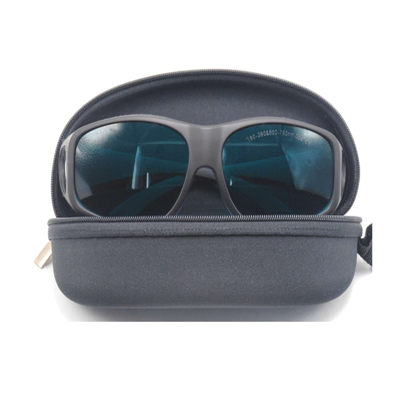 Орел пара 190-380 нм 600-760 нм OD4% 2B лазер защитные очки EP-2-9 широкий спектр непрерывный поглощение защитные очки