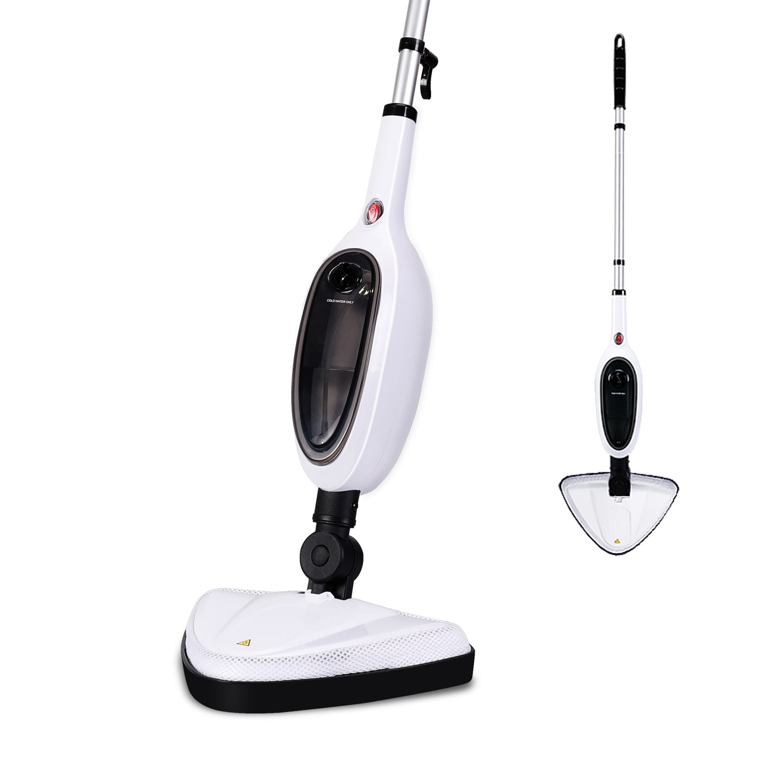 Electric Steam Mop Cleaner for Tile and Hardwood Use Floor Steamer for Carpet and Floor with Convenient Detachable Handle