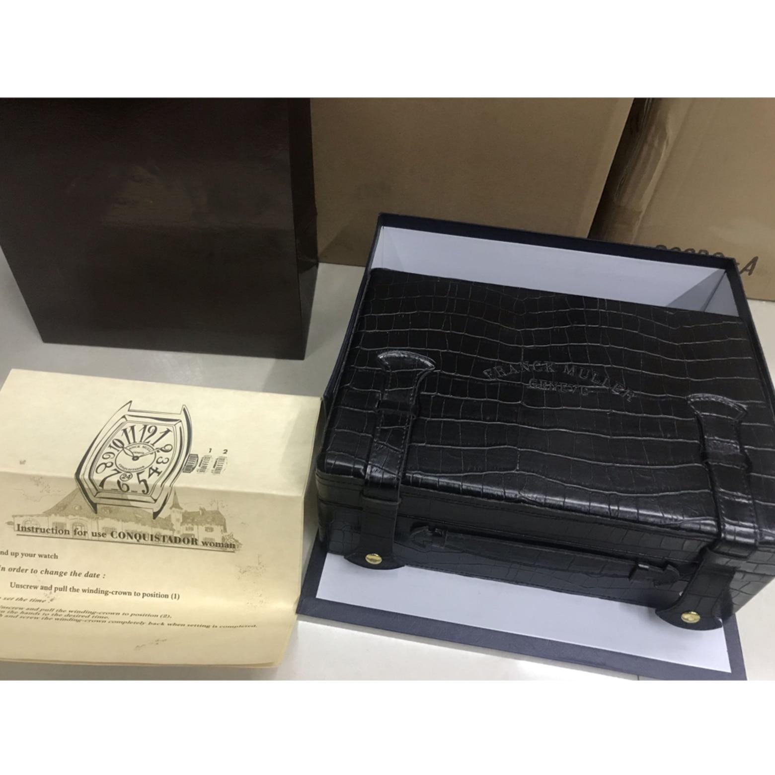 Top version luxury  watch box V45 SC DT YACHTING Crocodile Leather Bag  ETA 2824 SA2824  7750