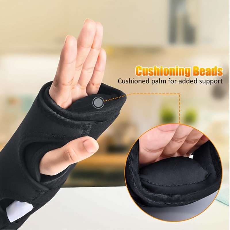 Wrist Support Brace Splint Wrist Sprain Night Sleep Hand Protector Medical Arthritis Band Strap Suitable for Left and Right Hand