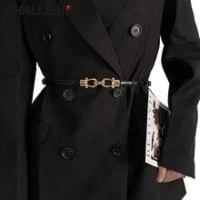 Ladies belt jeans all-match coat dress accessories, temperament fine style matching jacket simple ins wind belt x243