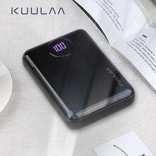 KUULAA batterie externe 10000mAh Portable chargeur rapide PowerBank 10000 double USB Mini chargeur de batterie externe pour Xiaomi Mi appauvrbank