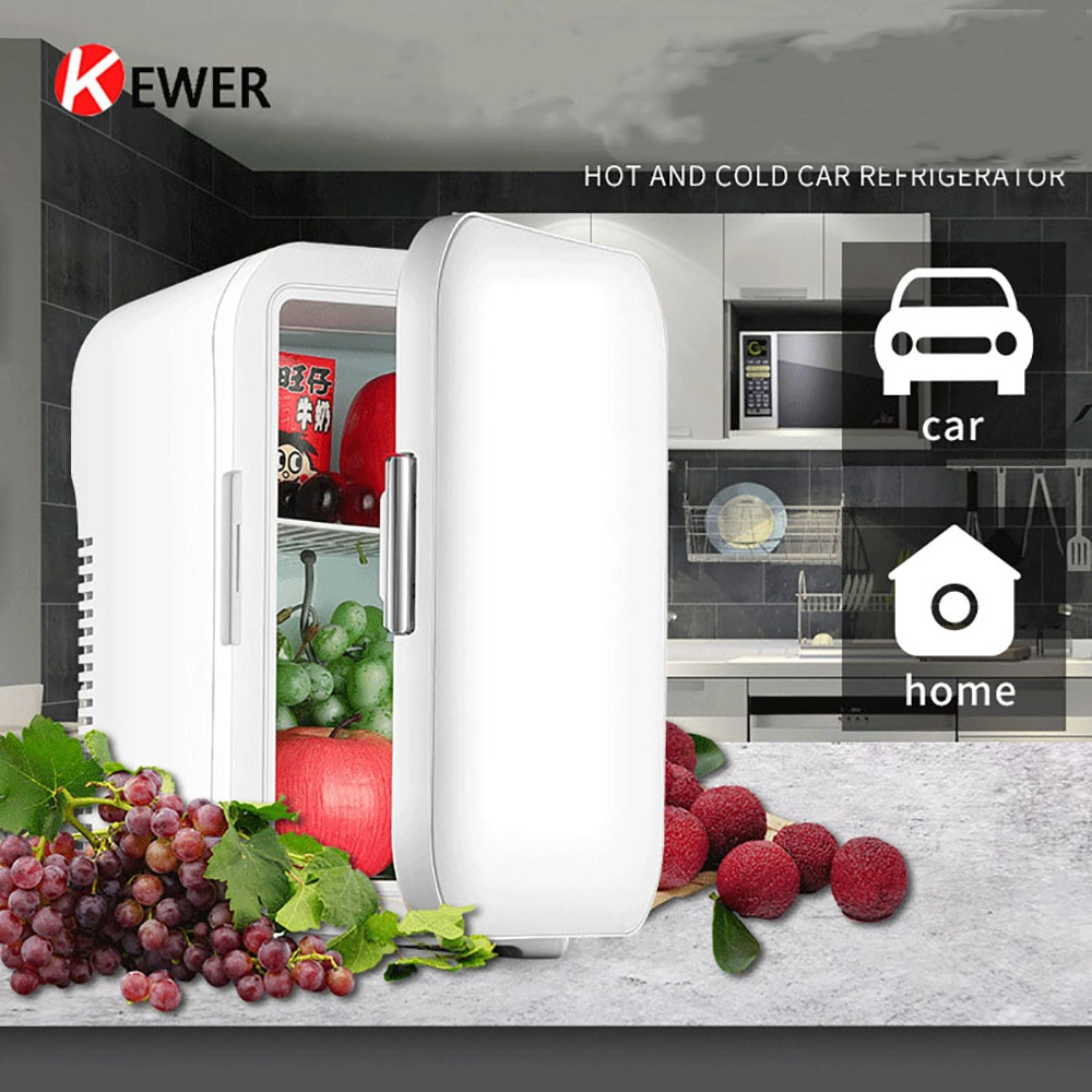 Portable Mini Refrigerator Multifunction Home Car Refrigerator High capacity Fridge Cooler & Warmer Refrigerators Freezer 10L