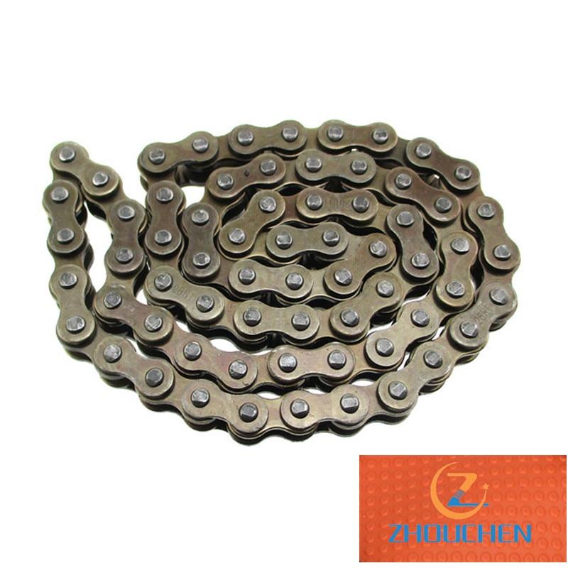 Z190 démarreur moteur chaîne 25H chaîne 66 broches (liens) pour Zongshen ZS1P62YML-2 2V 190cc Pit Dirt Bike