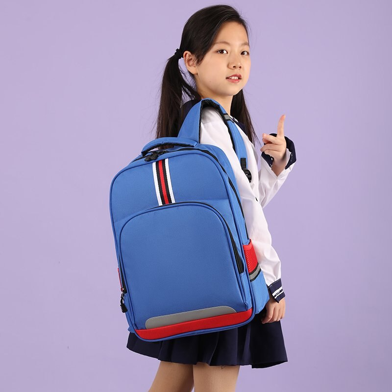 School Backpacks for 8 to 12 Years Old Kids Light Soft Nylon Book Bags