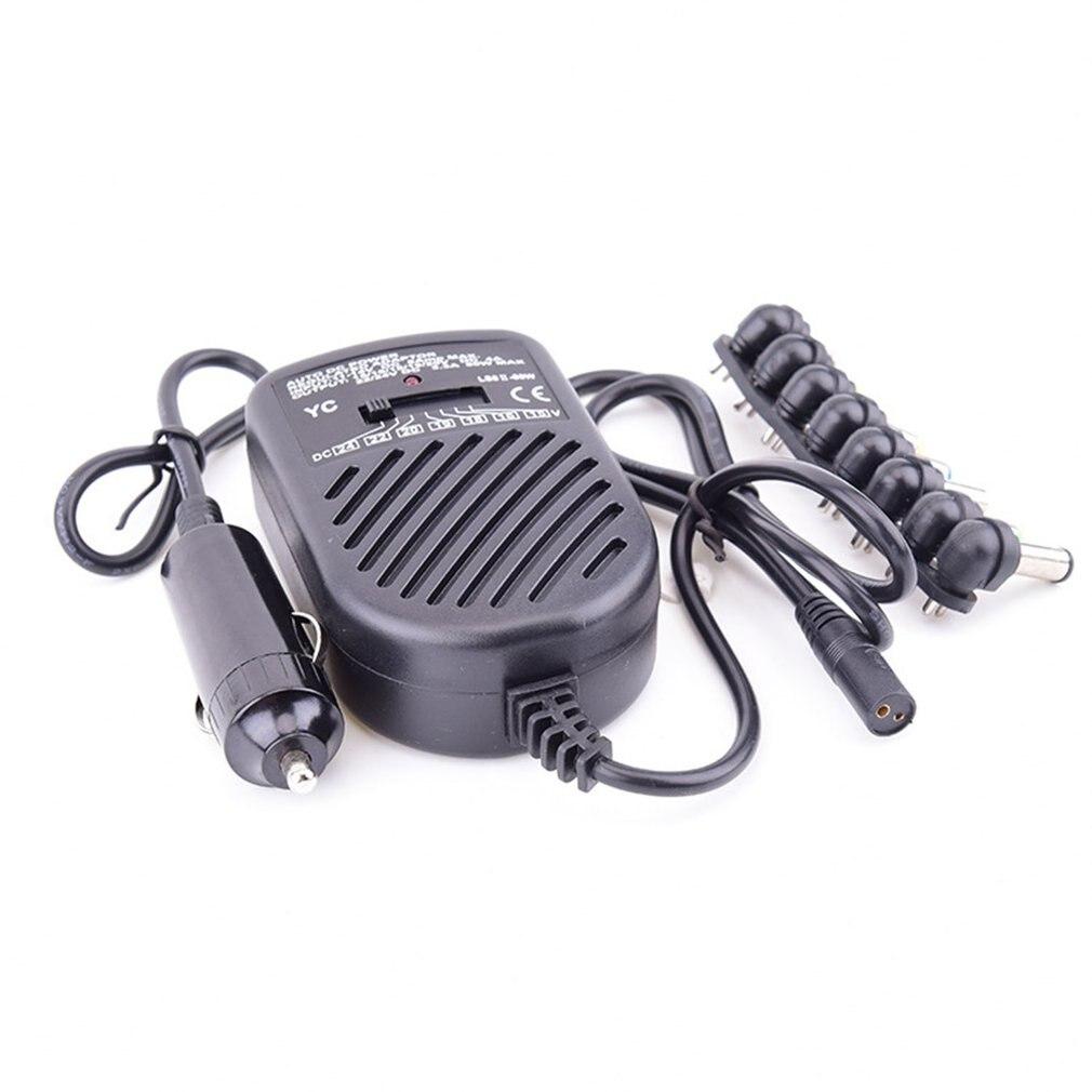 Adaptador universal magro 80w da c.a. do portátil com multi conectores suporta hp/compaq, ibm/lenovo thinkpad, dell, acessórios do carro de sony