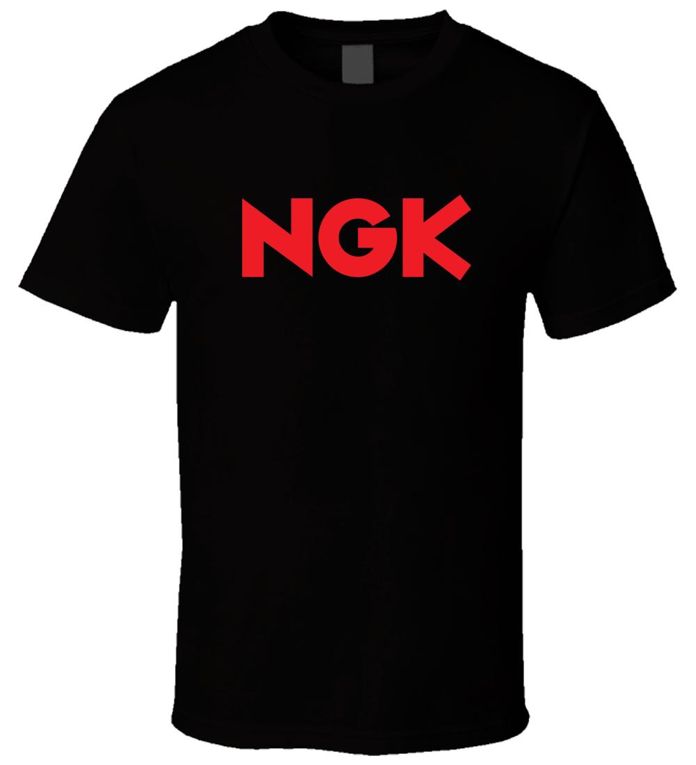 NGK bujías 1 Nueva camiseta Cool Casual pride T Shirt hombres Unisex nueva moda camiseta suelta tamaño superior ajax 2018 camisetas divertidas