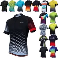 pro cycling jersey men summer breathable mtb bike clothes short sleeve bicycle clothing hombre ropa maillot ciclismo