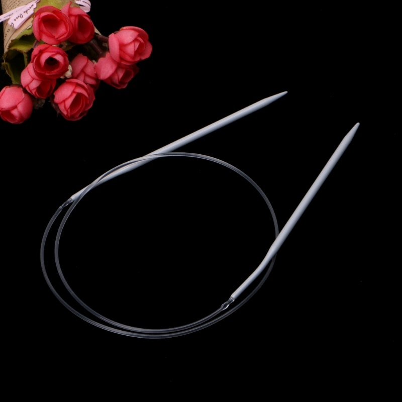 "Aluminum Circular Knitting Needles 80cm/31.5"" All Size"