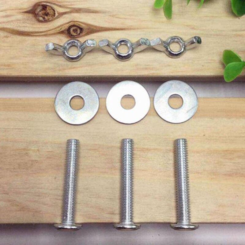 Tornillos de sujeción de Metal para jaula de pájaros, jaulas para casa, accesorios para cajas