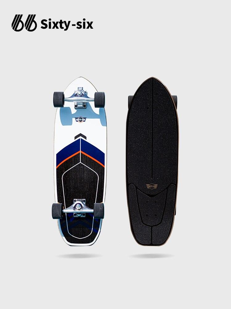 Street Short Skateboard 4 Wheel Fashion Land Surfboard Skate Board Thrasher Cruiser Deck Patineta Skate Board Accessories BI50SB