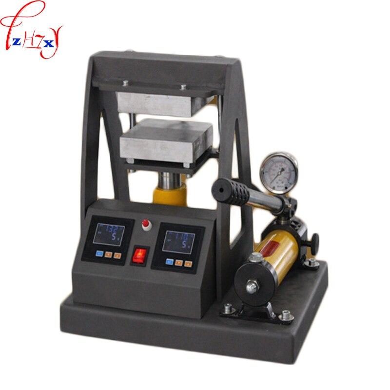 MP170-2 máquina de calentamiento y estampado de placa superior hidráulica Manual 12*12CM máquina de prensa de placas de calefacción Dual 110 /220V 1200W