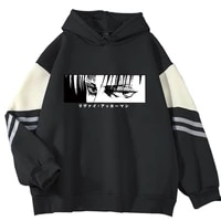 japanese anime graphic thick hoodies men autumn winter 2021 new attack on titan sweatshirt with hooded streetwear unisex male