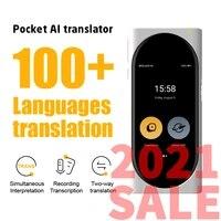 langogo genesis instant voice real time language translator recording multi translation for business travel study abroad