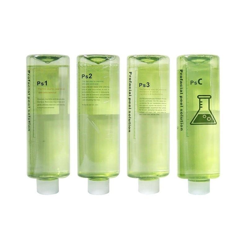 2021 هيدرا بيوتي أكوا تقشير الحل ديرمابيل 4*500 مللي لكل زجاجة تسمية خاصة مصل فيتامين ج النقي لآلة الأكسجين