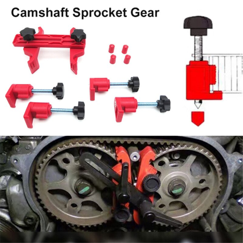 Camshaft Lock Holder Car Engine Timing Belt Disassembly Tools Cam Timing Locking Tool Set Universal Cam Automotive Kit