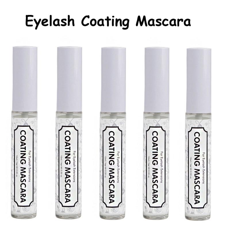 5pcs/lot Eyelash Coating Sealant Mascara Keep Eyelash Extension Styling Liquid Eyelash Extension Tools Beauty Makeup Tools 10ml