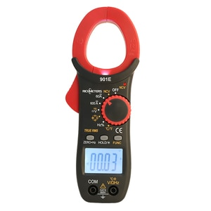 901E ACDC 600A Multimeter Current Clamp Tick Meter NCV True RMS Voltage Frequency Resistance Capacitance