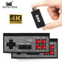 DATA FROG 4K HDMI-совместимая/AV видео Ретро игровая консоль встроенный 568/600/1700 классических игр беспроводной контроллер