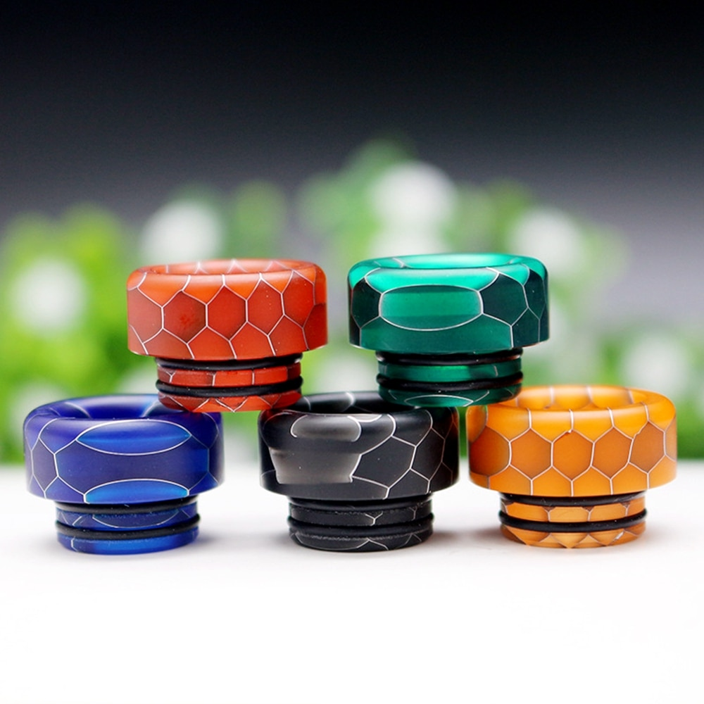 10pcs Vaporizer 810 mtl Drip Tip Coil Bulb Glass Cover Silicone Case Ring For TFV8 TFV12 Big Baby Prince Tank Atomizer Vape enlarge