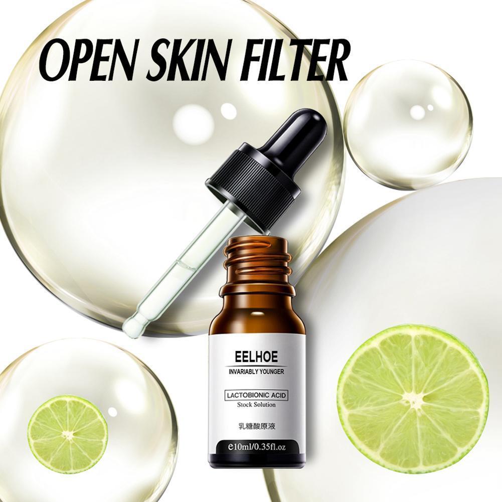Suero reductor de poros para poros, refino hidratante, antienvejecimiento, blanqueador, eliminador de...