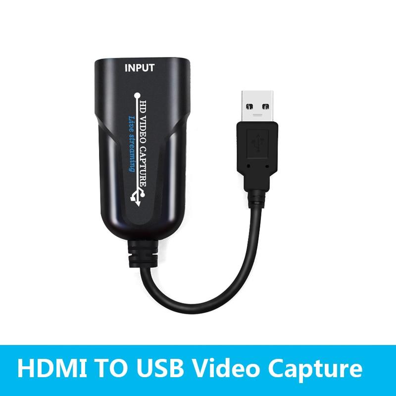 Tarjeta de captura de vídeo USB 3,0, dispositivo grabador de captura de...