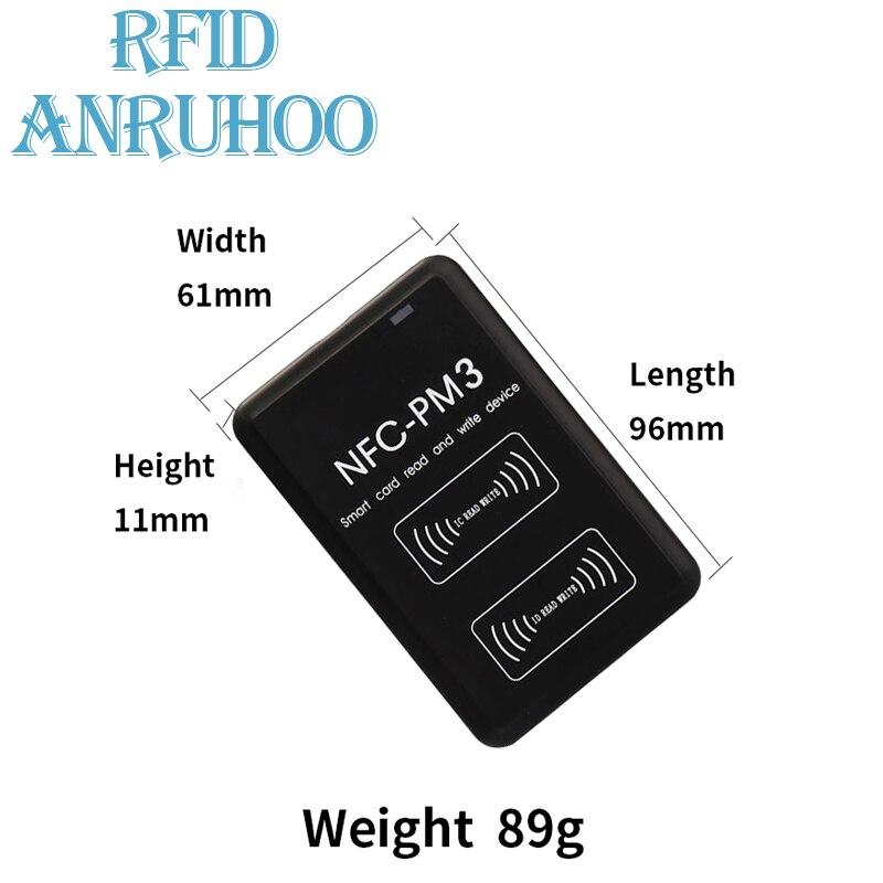 RFID ISO14443 тег Шифрование трещин считыватель PM3 копир 13,56 МГц NFC умный чип карты Писатель 1KS50 ключ значок Дубликатор duplo и