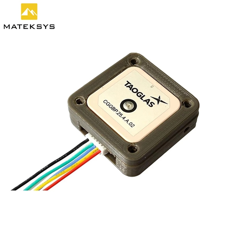 Matek Systems GNSS M9N-5883 M9N-CAN GPS Module With Magnetic Compass QMC5883L Support GLONASS, Galileo for FPV RC Racing Drone enlarge