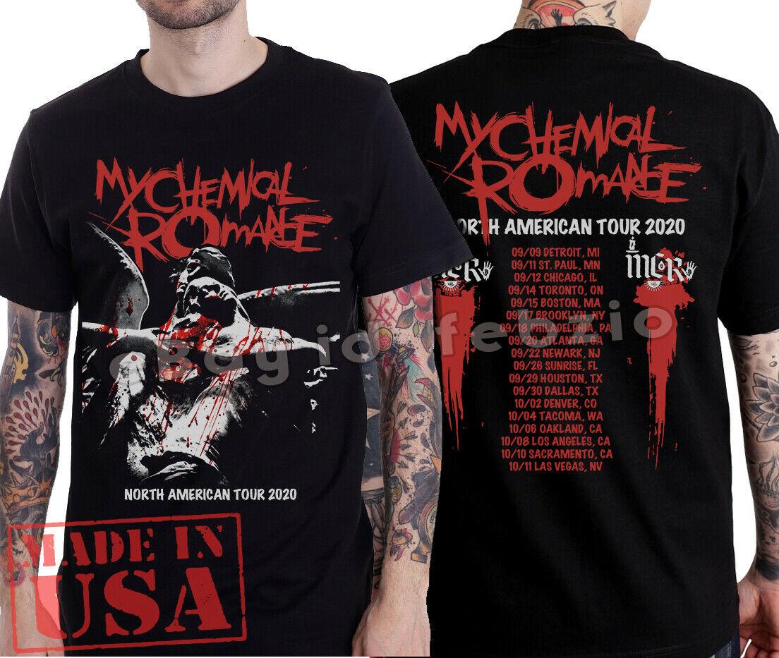 My Chemical Romance T Shirt Mcr Reunite North American Tour 2020 Emo Music Tee