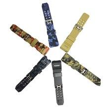 Skmei New Fashion Men/Women Watch Strap 1155B Top Brand Rubber Plastic For SKMEI Watchbands