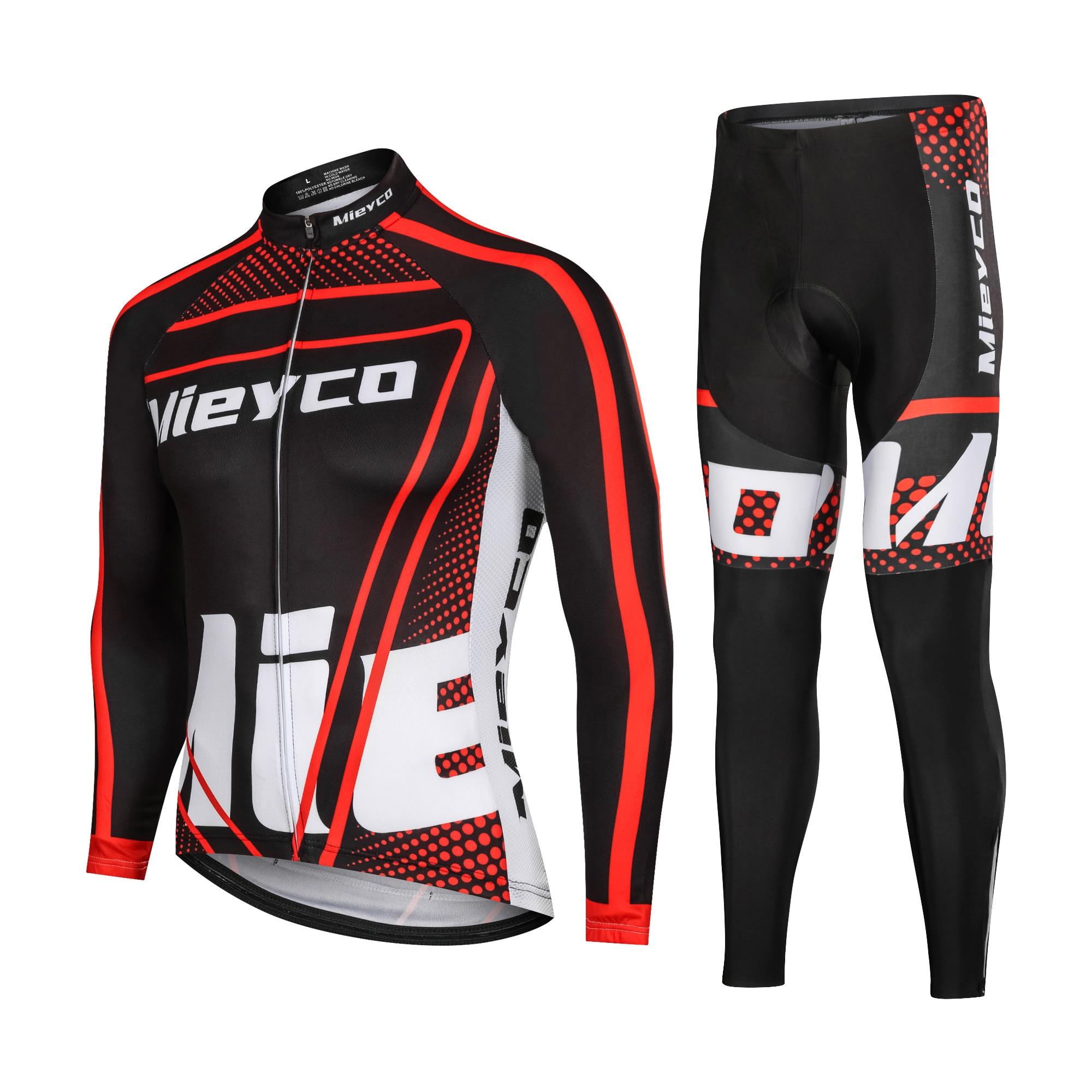 Mieyco Conjunto De Jersey De Ciclismo profesional Ropa De Maillot Ciclismo Hombre...