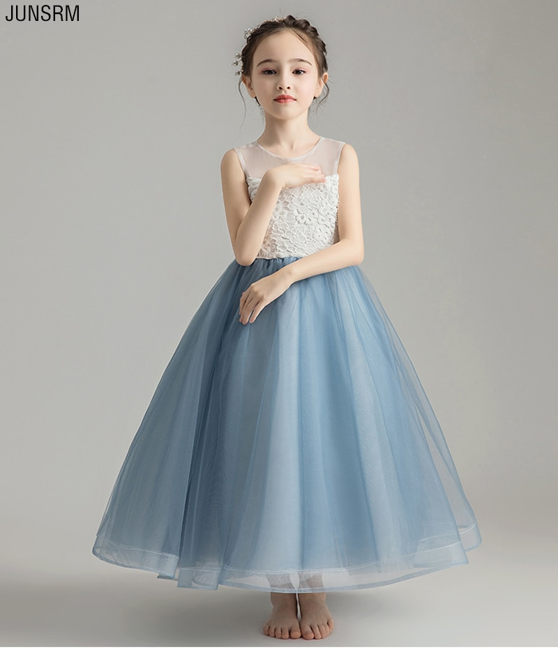 new arrival princess short sleeves lace flower girl dresses 2019 pink appliqued ball gowns for girls first communion dresses New Arrival Princess Flower Girl Dresses 2019 Tulle Girls Pageant Dresses First Communion Dresses Kids Evening Gowns