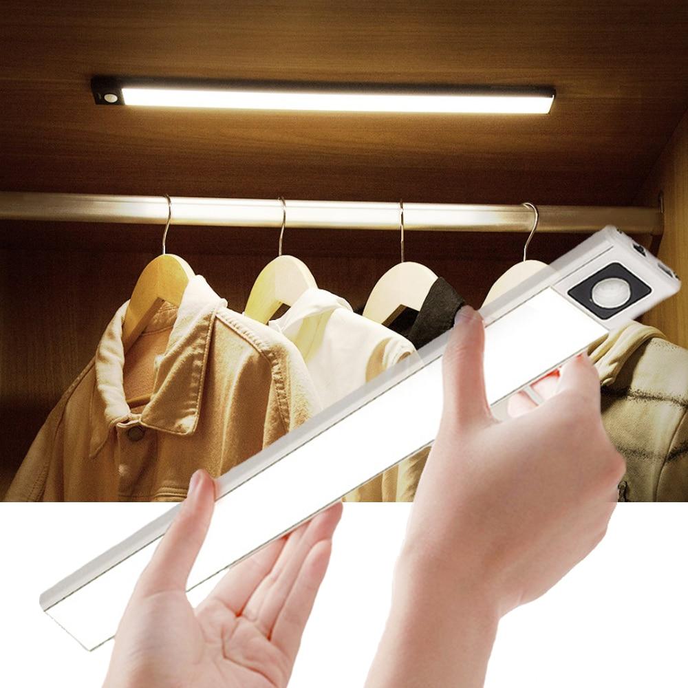 Motion Sensor Night Light Under Cabinet Light Closet Light For Kitchen Bedroom Lighting Motion Sensor light Cabinet led lighting