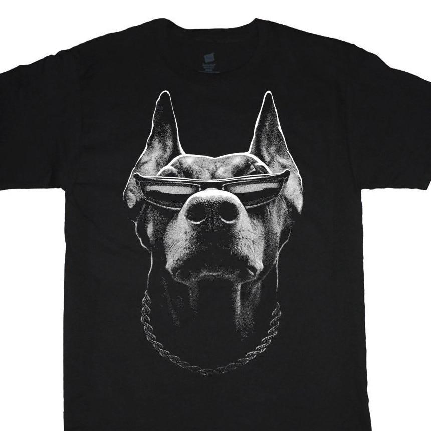Camiseta Casual para Hombre Ropa gran hombre camisa Doberman Pinscher talla grande Tee alto 2X 3X 4X 5X 6X 7X 10X