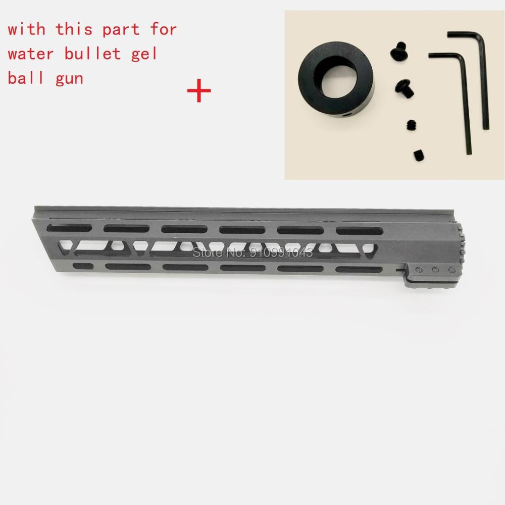 vector optics 12 inch ras free float handguard quad picatinny rail onepiece 223 5 56 extended carbine length a2 style 12 15 inch Picatinny mlok handguard Rails One Rail free Float Quad Rail For jinming 9 M4A1 water gel bullet gel ball gun toy