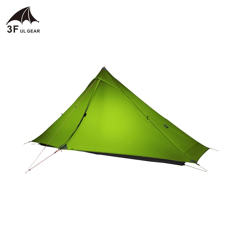 3F UL GEAR LanShan 1 pro 1 Person  Outdoor Ultralight Camping Tent 3 Season  Professional 20D Nylon Both Sides Silicon Tent недорого