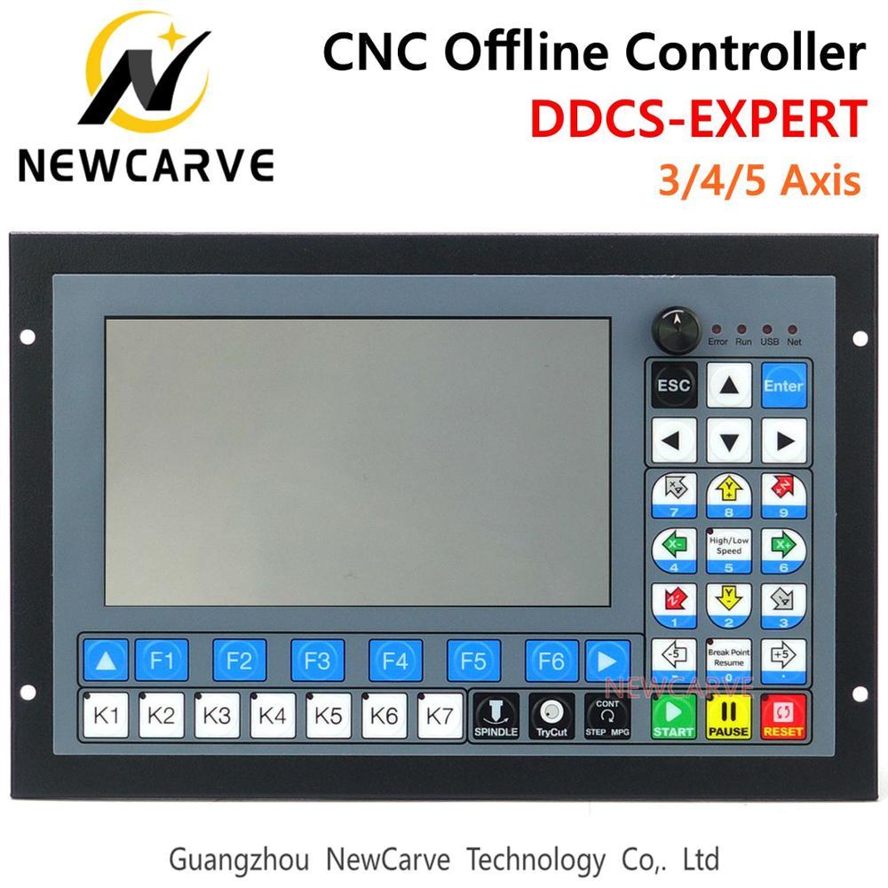 CNC مستقل حاليا تحكم DDCS-EXPERT 3/4/5 محور دعم وثيقة حلقة السائر/ATC تحكم استبدال DDCSV3.1 NEWCARVE